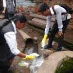 Interact Club of Kerala Samajam Model School takes a step towards creating health awareness in slums.