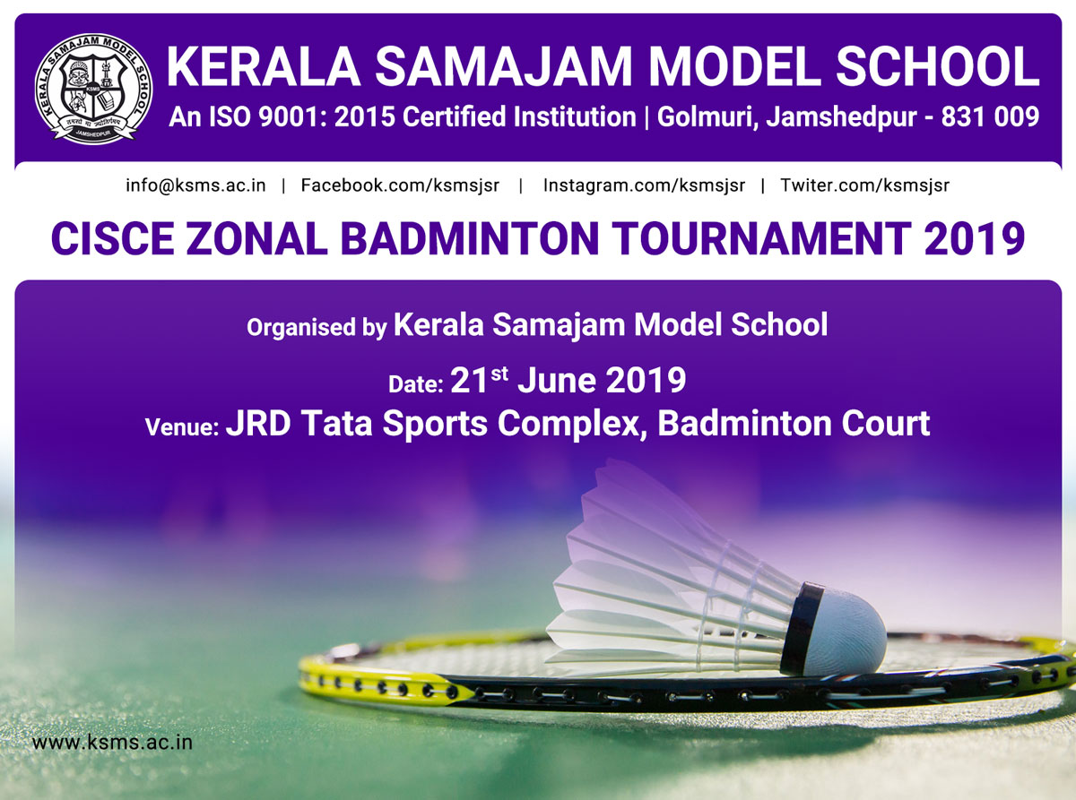 CISCE Zonal Badminton Tournament 2019